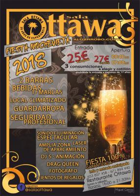 Fiesta Noche Vieja 2018 - Sala OTTAWA