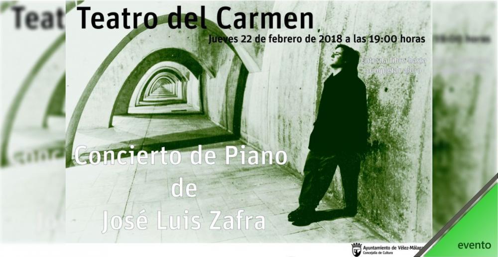 Concierto de piano de José Luis Zafra