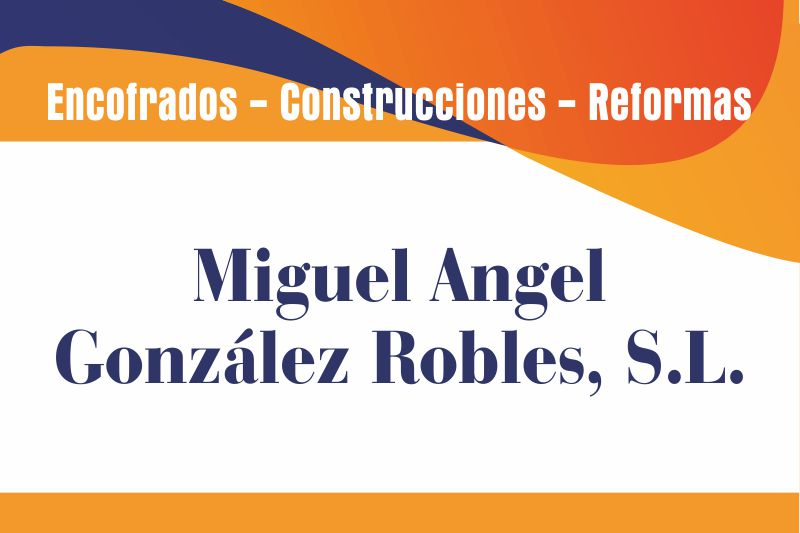 Miguel Ángel González Robles, S.L.