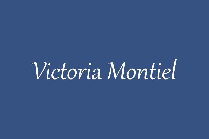 Victoria Montiel