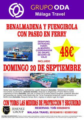 EXCURSION A BENALMADENA/FERRY/FUENGIROLA