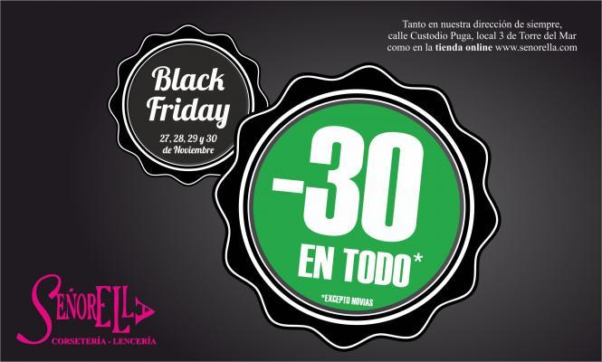 Black Friday 30% de descuento