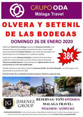 EXCURSION OLVERA Y SETENIL DE LAS BODEGAS