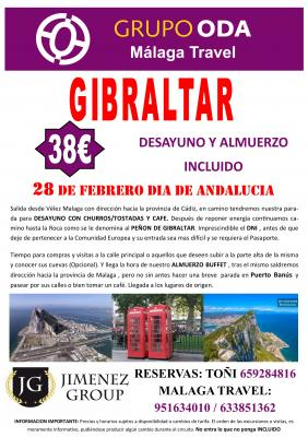EXCURSION A GIBRALTAR