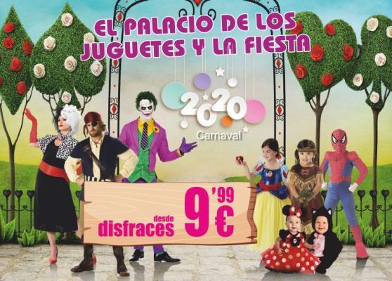 Disfraces de Carnaval desde 9,99 Euros