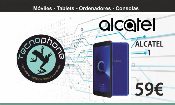 Alcatel 1 por 59 Euros en Tecnophone