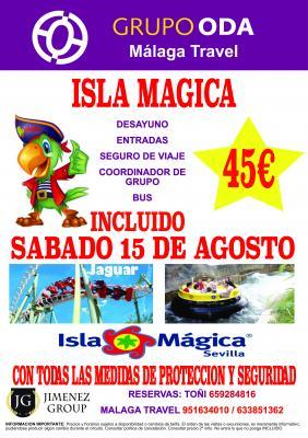 EXCURSION A ISLA MAGICA