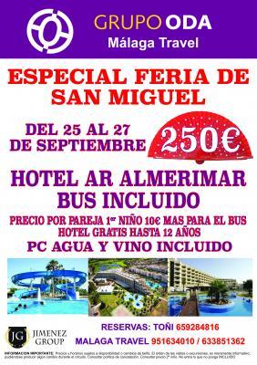 ESPECIAL FERIA SAN MIGUEL BUS INCLUIDO